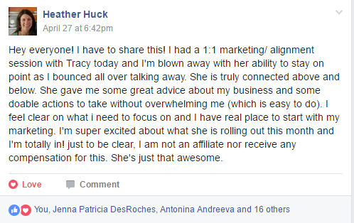 spiritual marketing coach