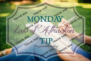 Law of Attraction Tip #14 Thank You, Thank You, Thank You!