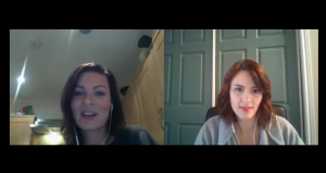 Antonina Andreeva Interviews Me on Woo Cast!