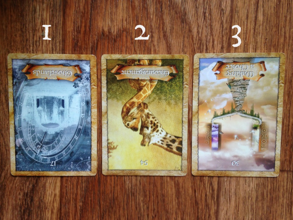 law of attraction oracle card reading