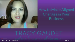 How to Make Aligned Changes in Your Business [VIDEO]