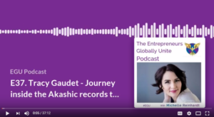 Inside the Akashic records to find Your Next Best Step [EGU PODCAST]