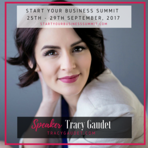 Join me at the Start Your Business Summit 2017!
