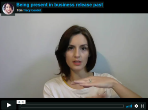 being present and intuitive in business