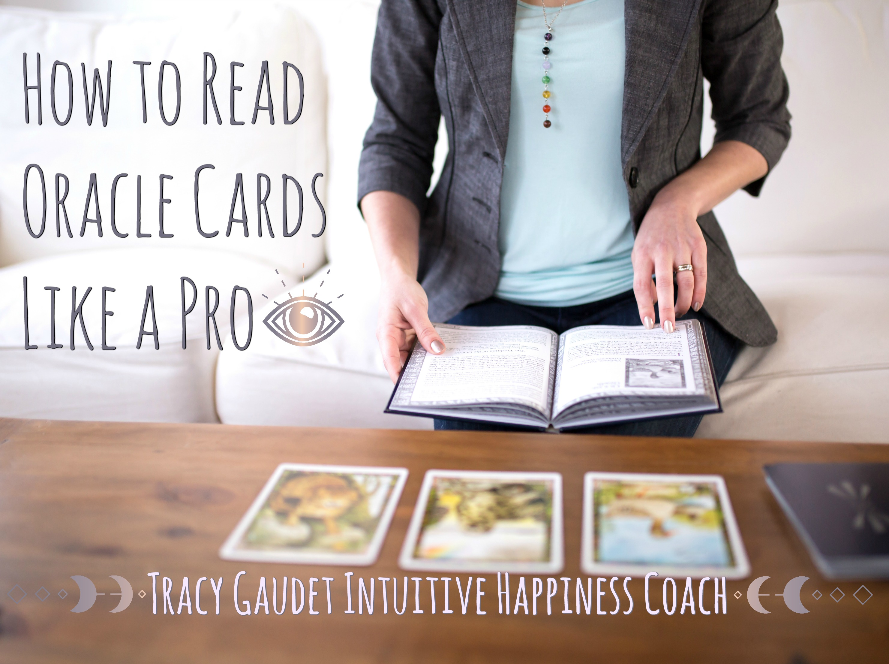 happiness coach oracle cards