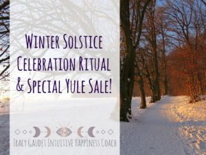 Winter Solstice Celebration Ritual & Special Yule Sale!