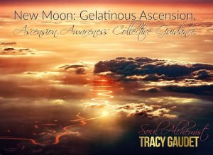 New Moon: Gelatinous Ascension. Ascension Awareness Collective Guidance.