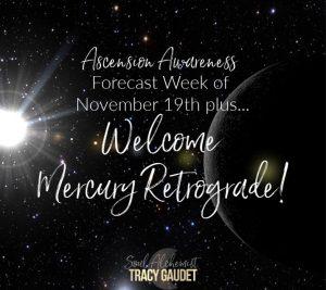 Ascension Awareness Forecast Week of November 19th